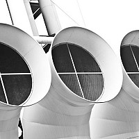 threefunnels - black and white photography for sale