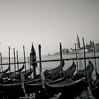 morningacrossvenice - black and white photography for sale