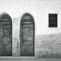 morocco3 - In the old part of the city, Marrakesh, Morocco 2007.   This print is a limited edition of fifty. -  print for sale