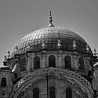neardolmabahce - Dome in Istanbul, Turkey, 2004. This print is a limited edition of fifty. -  print for sale