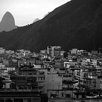 riodejaneirocity - Rio De Janeiro, 2005. This print is a limited edition of fifty. -  print for sale