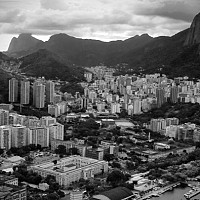 riopano - Rio De Janeiro, 2005. This print is a limited edition of fifty. -  print for sale