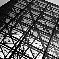 point - Pyramid at the Louvre. -  print for sale