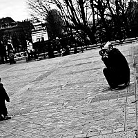 smileplease - Smiling for his picture. This image was taken on Pont Neuf -  print for sale