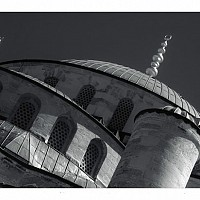 bluemosque3 - Another shot of the Blue Mosque. It was built in 1616. -  print for sale