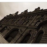 haydarpasa - Haydarpasa Train Station, Asian Side, Istanbul. This exotic station has trains to Baghdad. -  print for sale