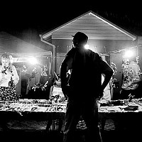 oistins - Oistins Fish Fry. Every Friday night the Fish Fry at Oistins attracts tourists and locals alike. This photograph aims to capture the excitement of the Fish Fry.  -  print for sale