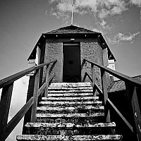 signalstation - Gun Hill Signal Station. Gun Hill station is great for views across this Caribbean Island.  -  print for sale
