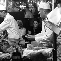 chef - black and white photography for sale