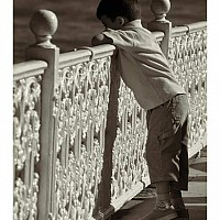 littleboy - black and white photography for sale
