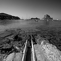 caladhort - Cala De Hort is a beach on the Western side of the Island of Ibiza.