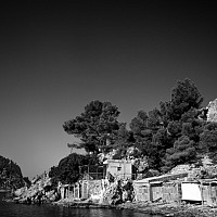 ibizabeach - black and white photography for sale