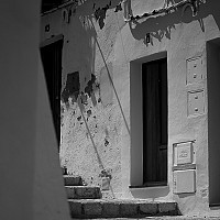 oldtownibiza - black and white photography for sale