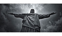christ black and white photography for sale
