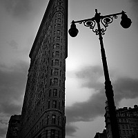 flatiron - black and white photography for sale