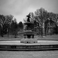 fountain - black and white photography for sale