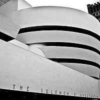 guggenheim - black and white photography for sale