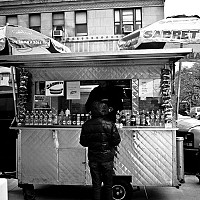 hotdog - black and white photography for sale