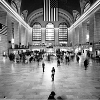 insidegrandcentral - black and white photography for sale