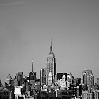 midtown - black and white photography for sale