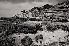 coastline black and white photography for sale