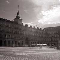 plazamayor - Plaza Mayor, Madrid. In the centre of the Spanish capital is the Plaza Mayor.  -  photograph for sale
