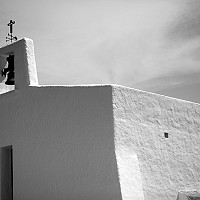 escubells - Church at Escubells on the Island of Ibiza