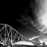 black and white forthbridge2 photography