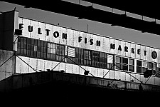 fultonfishmarket black and white photography for sale