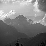 black and white inthemountains photography