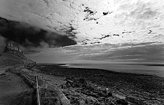 lindisfarnecastle black and white photography for sale