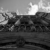 palaceatwestminster2 - black and white photography for sale