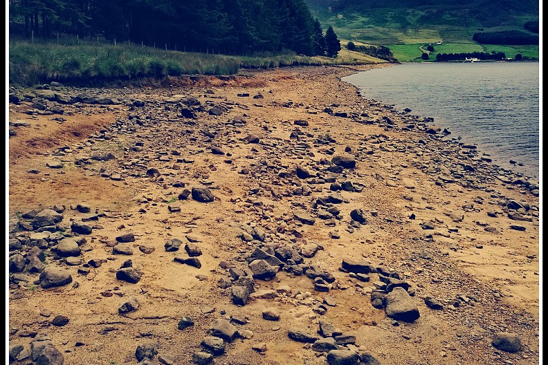 Beach at Dovestones,  Saddleworth