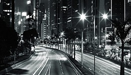 nighttraffic black and white photography for sale