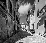 oldtownciutadella black and white photography for sale