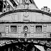 sighs - The Bridge of Sighs, Venice, Italy. This bridge gets its name from the sighs the prisoners made as they walked from the Doges Palace to their execution -  photograph for sale