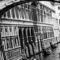 underthebridge - Bridge of Sighs, Venice, Italy. Fran Lebowitz once said, If you read a lot, nothing is as great as you've imagined. Venice is. Venice is better. He was right.  -  photograph for sale