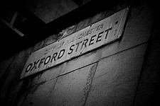 oxfordstreet black and white photography for sale