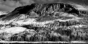rockface black and white photography for sale
