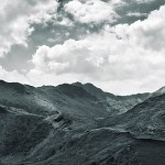 black and white snowdonia photography