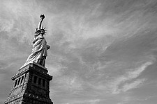 statueofliberty black and white photography for sale