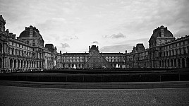 thelouvre black and white photography for sale