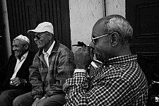 threemen black and white photography for sale